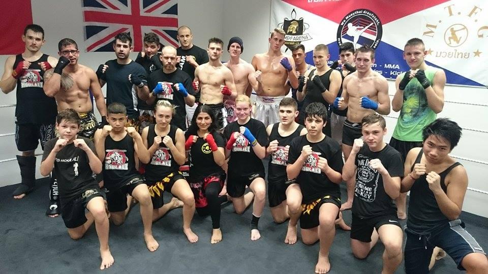 Kampfarena Sparringstreff, K-1 Kickboxen