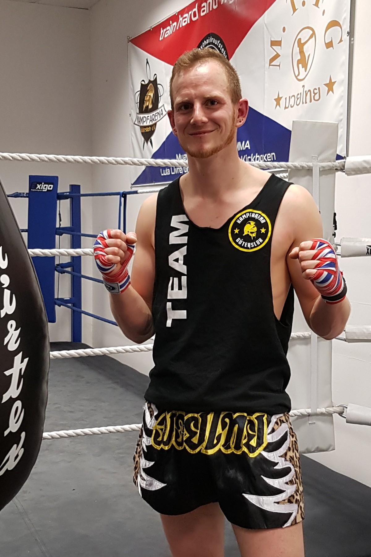 Alex Henkenjohann, qualifizierter Trainer Muaythai, K-1, Gütersloh, Kampfarena, Kampfsport