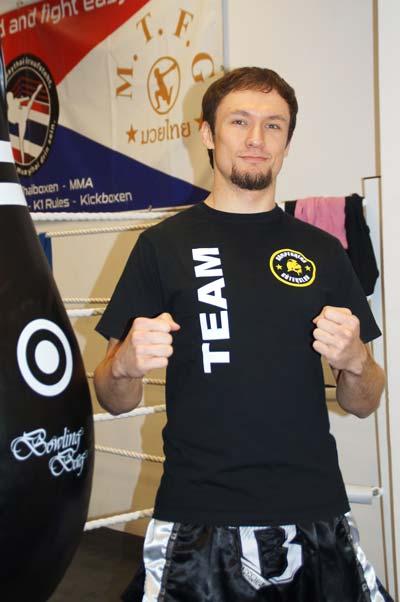 Muay Thai Trainer Jonas Kampfarena Gütersloh