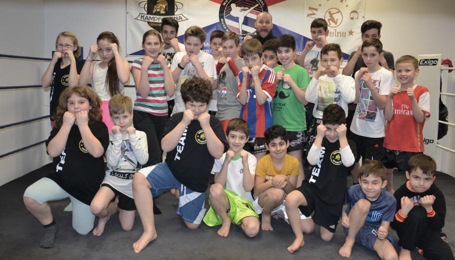 Kampfarena Gütersloh, Kinder Kickboxen